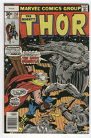 Thor #258 The Grey Gargoyle Kirby Cover Art Bronze Age Classic VF