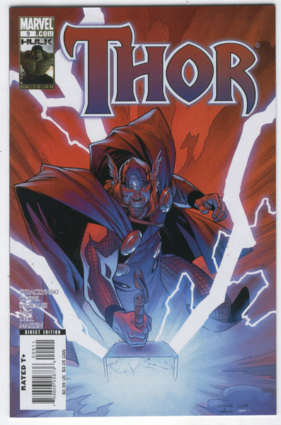 Thor #9 Forced Perspective Coipel Art VF