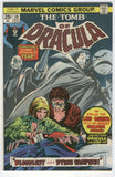 Tomb Of Dracula #38 Bloodlust For A Dying Vampire Colan Art Bronze Age Horror Classic VGFN