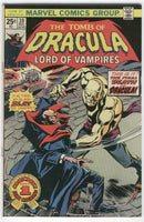 Tomb Of Dracula #39 The Death Of Dracula Bronze Age Horror Colan Art FN