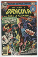 Tomb Of Dracula #46 The Marriage Of Dracula Colan Bronze Age Horror Art VGFN