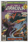 Tomb Of Dracula #47 Death-Rite Colan Bronze Age Horror FN