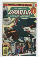 Tomb Of Dracula #51 Blade Must Be Destroyed Colan Bronze Age Horror FN