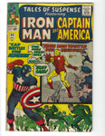 Tales Of Suspense #60 Iron Man And Captain America Second Appearance Of Hawkeye! Silver Age Key VG