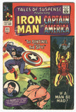 Tales Of Suspense #68 If A Man Be Mad Iron Man and Cap Silver Age Classic VG