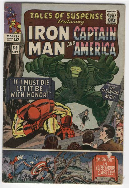 Tales Of Suspense #69 First Titanium Man Silver Age Key GD