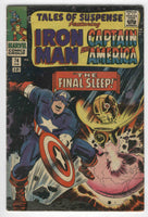 Tales Of Suspense #74 Iron Man Captain America The Final Sleep Silver Age Classic VG