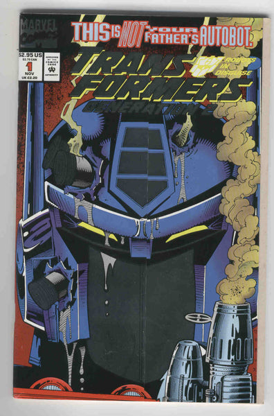 Transformers Generation 2 #1 Foil Fold-Out Cover HTF VF