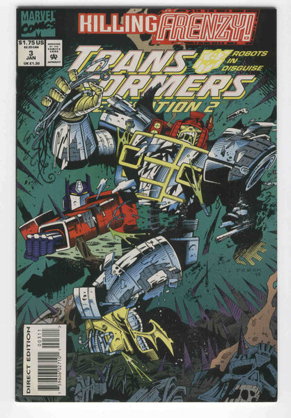Transformers Generation 2 #3 Primal Fear VF