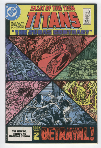 Tales Of The Teen Titans #43 The Judas Contract Book 2 Deathstroke VF
