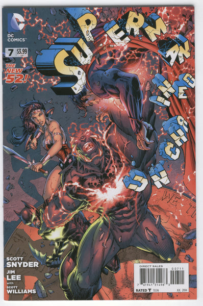 Superman Unchained #7 DC New 52 Series NM