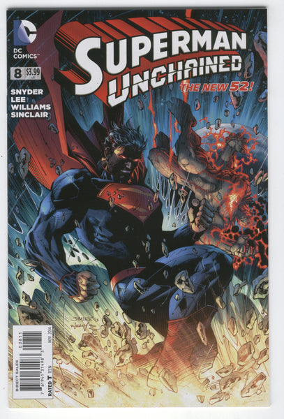 Superman Unchained #8 DC New 52 Series NM-