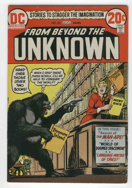 From Beyond the Unknown #23 The Secret of the Man-Ape Bronze Age Horror FN