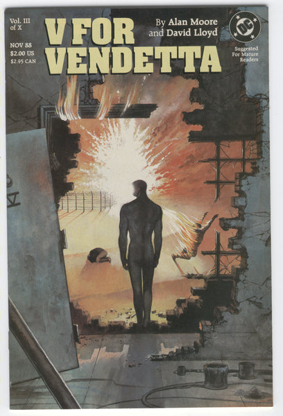 V For Vendetta #III of X Alan Moore David Lloyd VFNM