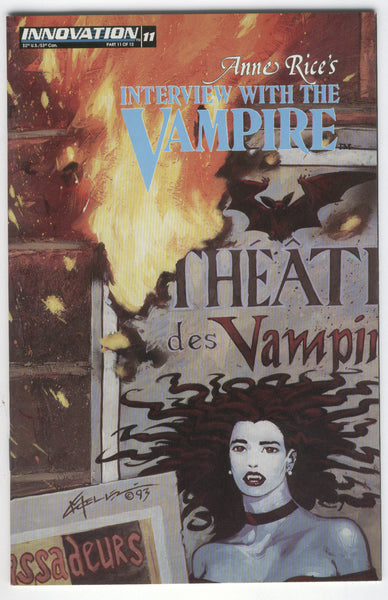 Anne Rice's Interview with the Vampire #11 Innovation Comics Mature Readers FNVF