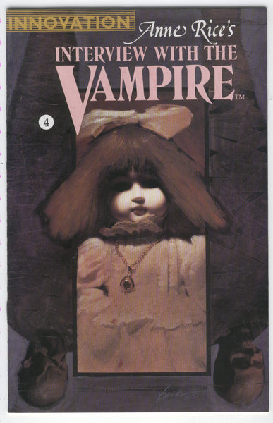 Anne Rice's Interview with the Vampire #4 Innovation Comics Mature Readers FNVF
