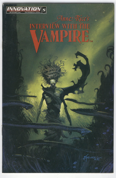 Anne Rice's Interview with the Vampire #5 Innovation Comics Mature Readers FNVF