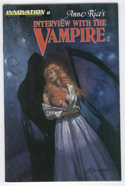 Anne Rice's Interview with the Vampire #8 Innovation Comics Mature Readers VF