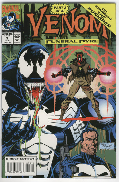 Venom Funeral Pyre #3 Punisher NM-