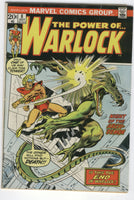 Warlock #8 Is This The End? Bronze Age Classic VG