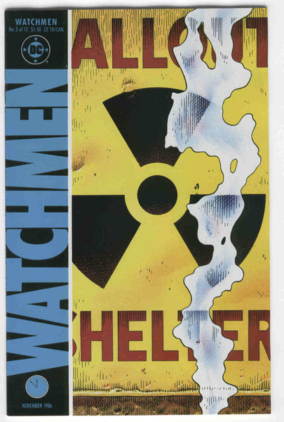 Watchmen #3 The Judge Of All The Earth Alan Moore Dave Gibbons VF