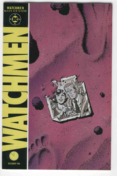 Watchmen #4 Alan Moore Dave Gibbons Modern Age Key VF