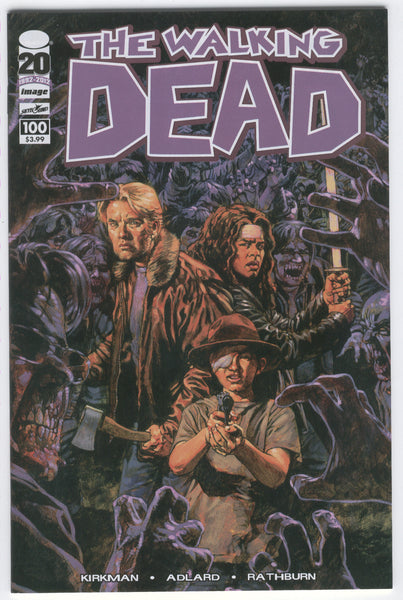 Walking Dead #100 Sean Phillips Cover Negan is up to Bat... Mature Readers NM