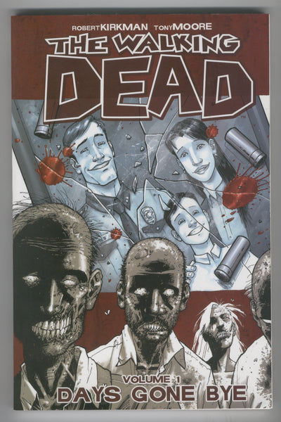 The Walking Dead Trade Paperback Vol. 1 Days Gone By Tenth Printing VFNM