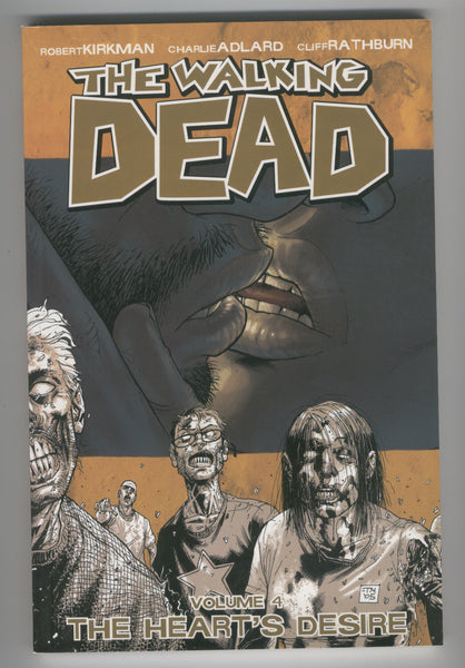 The Walking Dead Trade Paperback Vol. 4 The Heart's Desire Fifth Printing VFNM