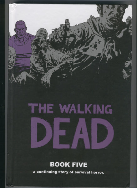Walking Dead Book 5 Trade Hardcover Kirkman Adlard 3rd Print Mature Readers VF