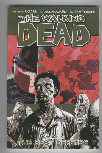 The Walking Dead Trade Paperback Vol. 5 The Best Defense Fourth Printing VFNM