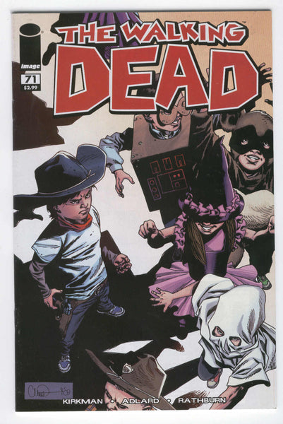 Walking Dead #71 Halloween Horror HTF Issue VF