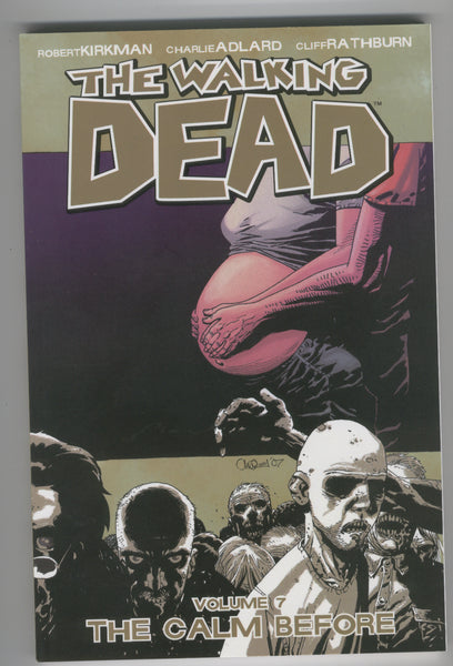 The Walking Dead Trade Paperback Vol. 7 The Calm Before Third Printing VFNM