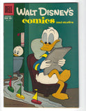 Walt Disney's Comics And Stories #218 HTF Golden Age 10 Cent Cover FVF