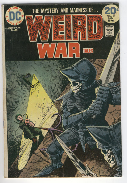 Weird War Tales #21 One Hour To Kill Bronze Age Classic VG