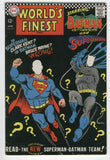 World's Finest Comics #167 The New Superman Batman Team Silver Age Classic VG