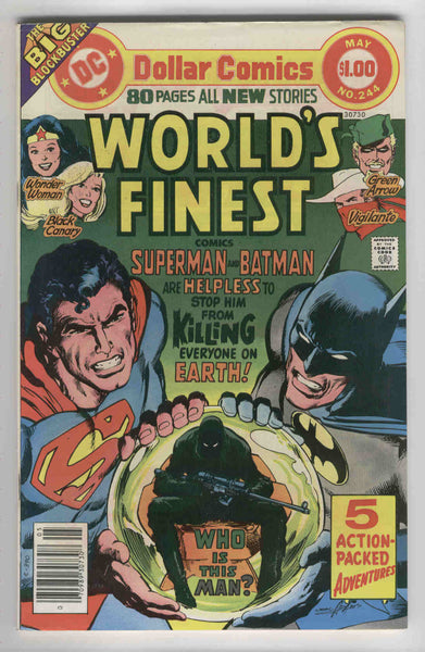 World's Finest #244 DC 80 Page Giant Neal Adams Art Bronze Age Classic FVF