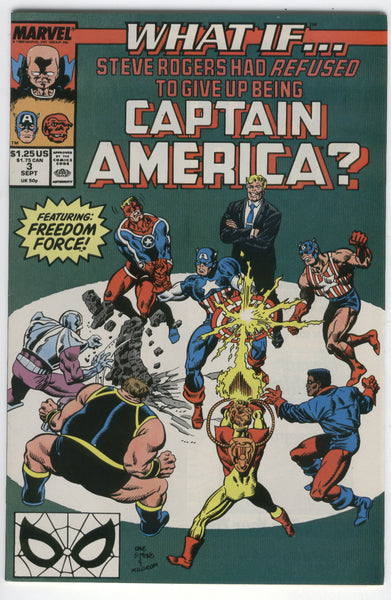 What If... #3 Steve Rogers Refused To Give Up Being Captain America? VF