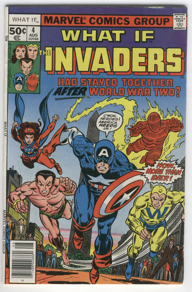 What If #4 The Invaders FN