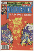 What If #27 featuring The X-Men and Phoenix Had Not Died? HTF News Stand Variant VF