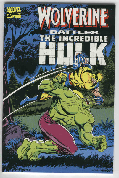 Wolverine Battles The Incredible Hulk TPB First Print VFNM