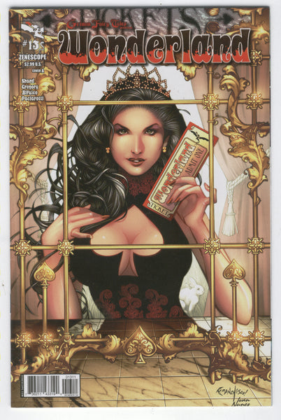 Grimm Fairy Tales Wonderland #13 Your Ticket To Paradise! Mature Readers VF