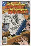 Wonder Woman #240 Wanted Dead Or Alive Bronze Age Classic VF