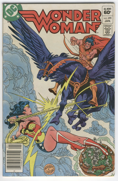 Wonder Woman #299 News Stand Variant Gene Colan Art VGFN