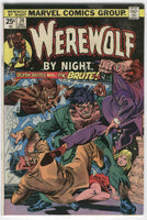 Werewolf By Night #24 Death Battle with The Brute Bronze Age Classic FN