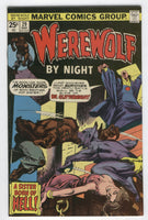 Werewolf By Night #29 A Sister  Born Of Hell Bronze Age Horror Classic FN