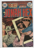 Weird Western Tales #22 Jonah Hex Showdown At Hard Times Bronze Age classic VG
