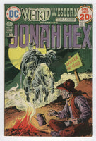 Weird Western Tales #25 Early Jonah Hex Bronze Age Classic FN