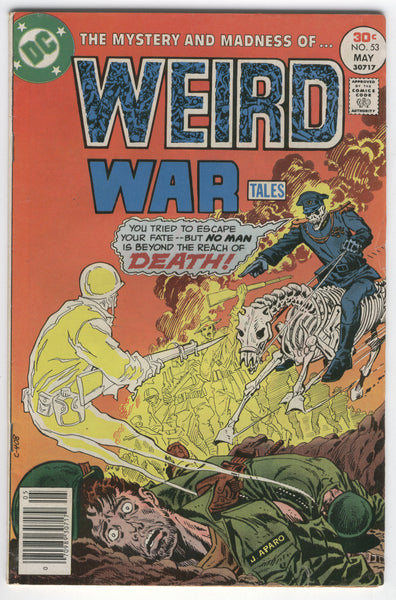 Weird War Tales #53 Mystery and Madnes from the Bronze age FN
