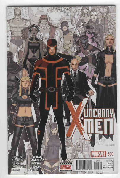 Uncanny X-Men #600 Mendoza Cover NM-